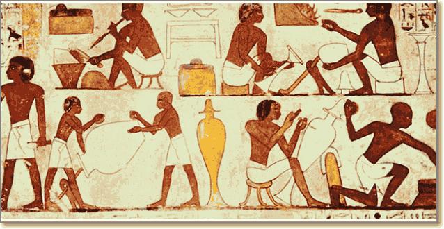 Система разделения труда в Древнем Египте