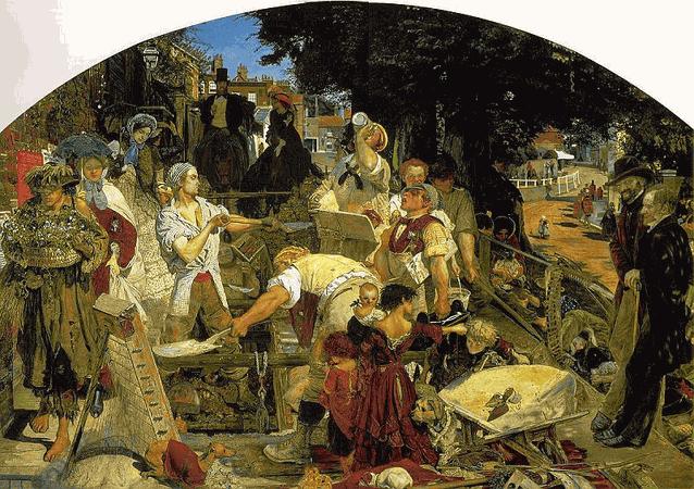 «Труд» — картина Форда Мэдокса Брауна