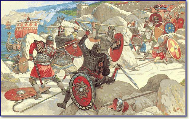 Набег руси на Амастриду в 830(?)