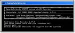 Окно командной строки при установке XAMPP пропадет само сабой