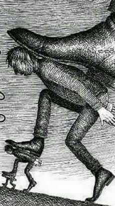 Иллюстрация линейного доминирования среди чиновников