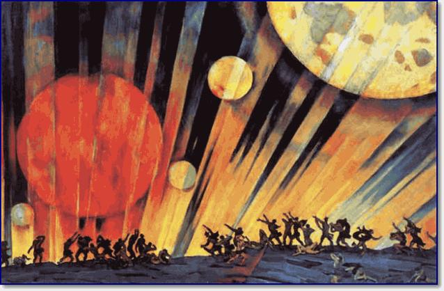 Картина «Новая планета» художник Юон Константин Федорович