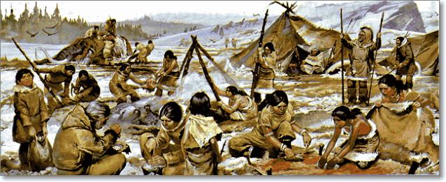 племя жили как стая хищников за стадами