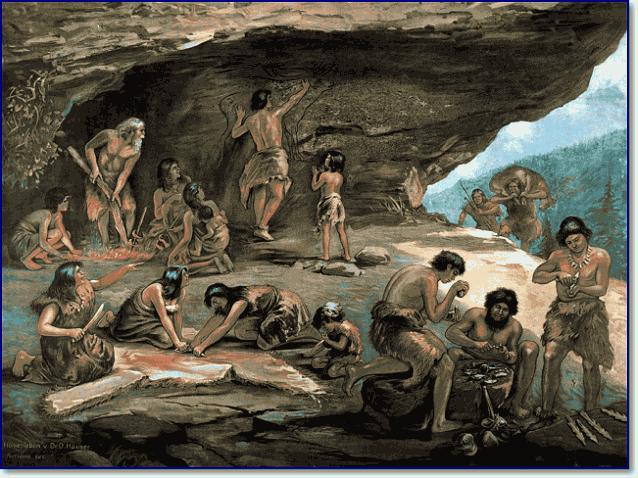 Разделение труда в племени