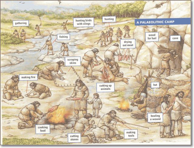 Система разделения труда в племени