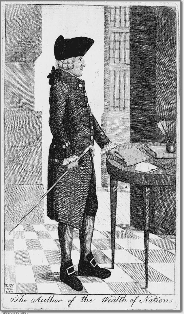 Adam Smith портрет