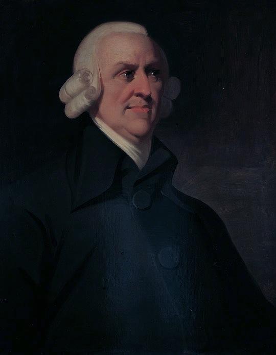 Адам Смит портрет