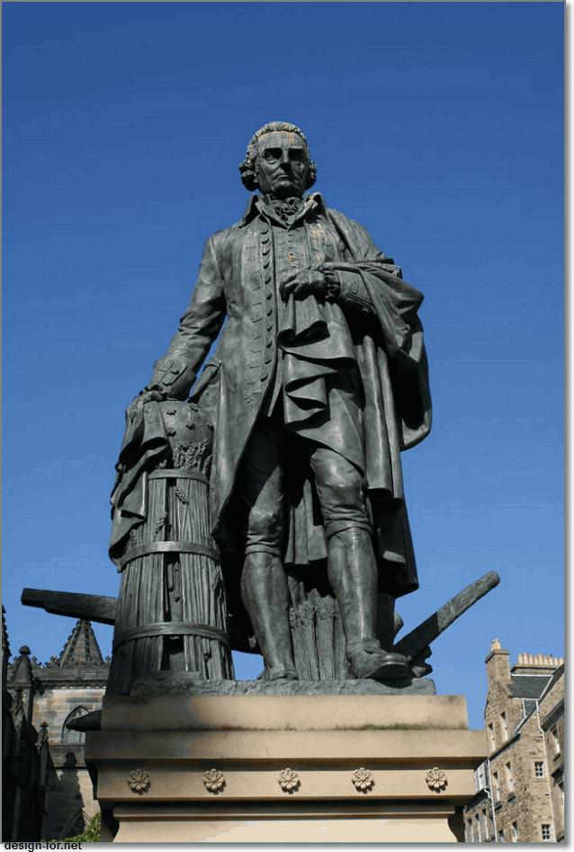Адам Смит памятник