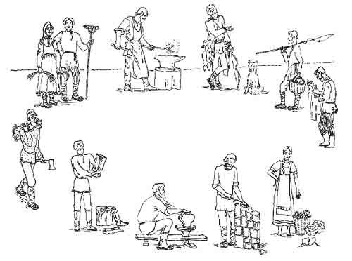 примеры разделение труда