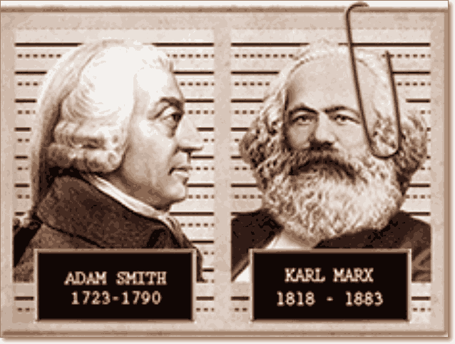 Адам Смит и Карл Маркс