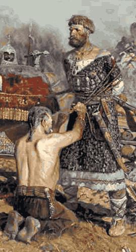 В битве на реке Калке погиб цвет русского воинства