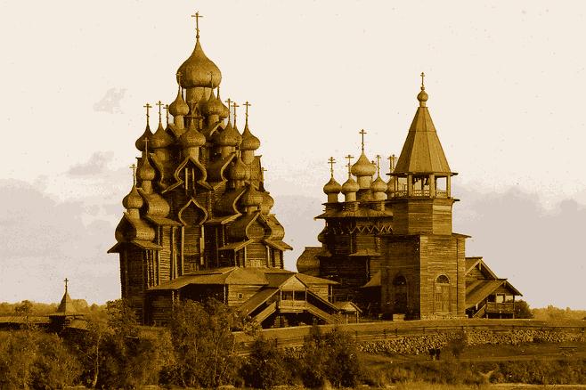 деревянное зодчество Руси