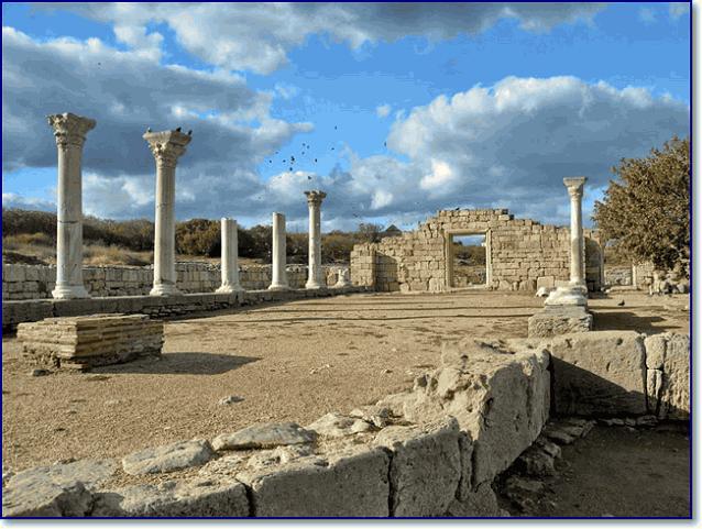 Севастополь есть греческий Херсонес Таврический