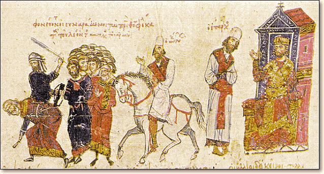 византийский император Феофил