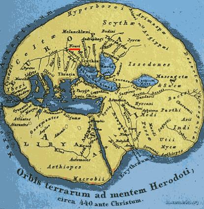 Карта Геродота