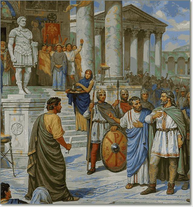 первый князь Киева Кий в Константинополе