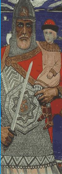 Князь Олег с Игорем