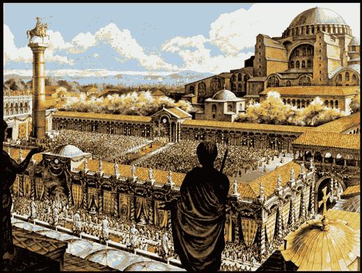 Константинополь столица Византии