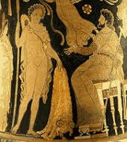 Миф о Золотом Руне на греческой вазе