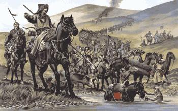 вторжение монголо татар