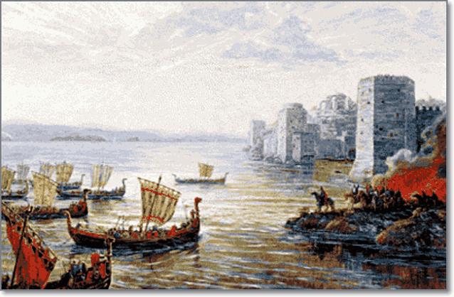 поход руси на Константинополь