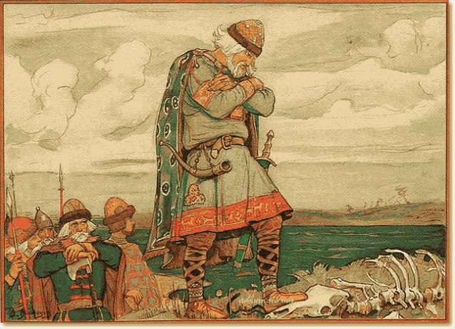Вещий Олег и змея