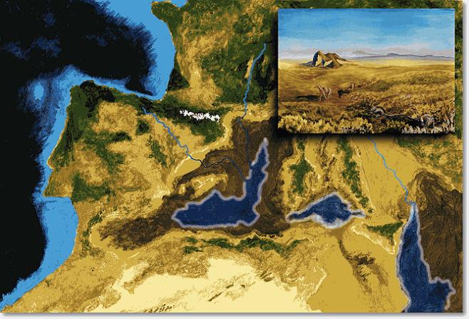 Практически полное высыхание Средиземного моря