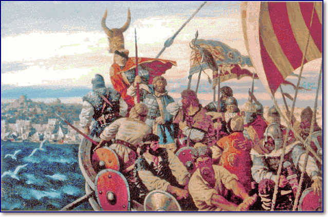Поход князя Игоря на Византию