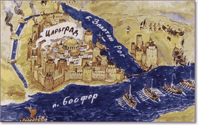 поход Олега на Царьград