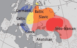 Прародина индоевропейцев
