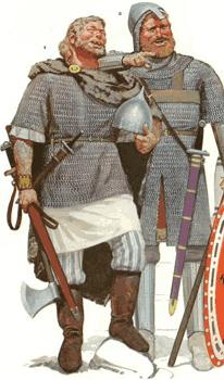 Норманы и варяги в Византии как наемники варинги