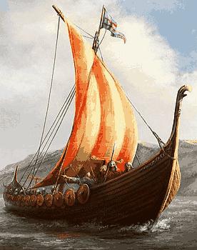 Лодка варяг драккар