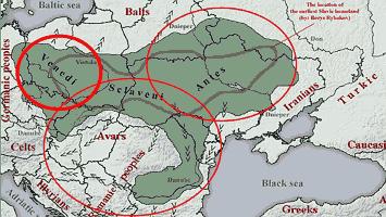венеды карта