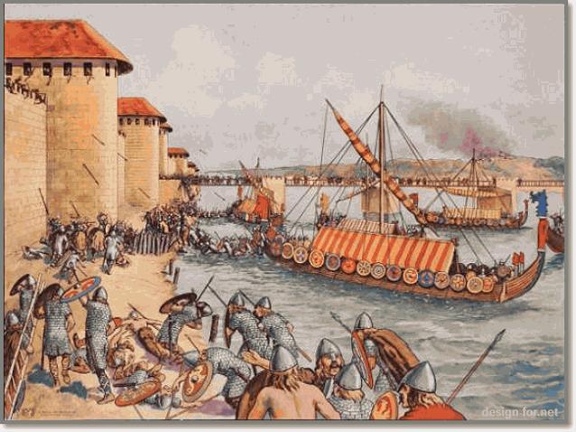 набег викингов