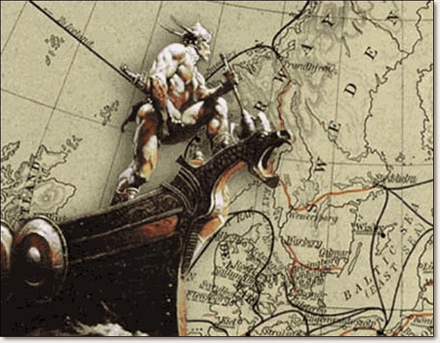викинги норманны два столетия были бичом Европы