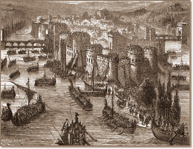 набег викингов на Париж