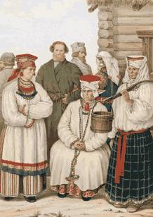 Одежда русских воронежской губернии
