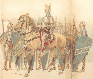 Варяги как наемные солдаты в Византии