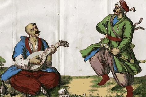 Одеяния запорожских казаков