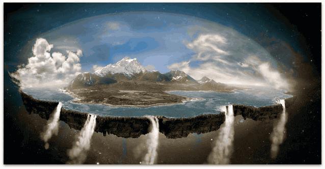 Гипотеза плоской земли