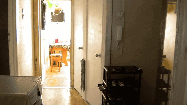 холл вид на кухню