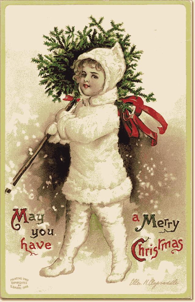 открытки Merry Christmas