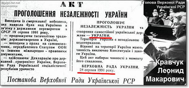 Акт провозглашения независимости Украины