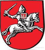 герб Погоня с изображением Колюмны на щите