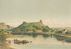 замковая гора Вильнюс
