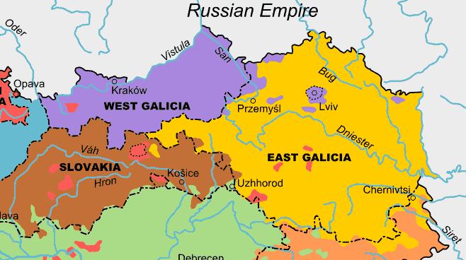 Кельсиев Галичина Galicia