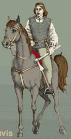 конный литовский воин