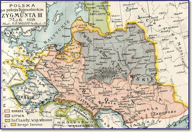 Земли Галицко-Волынского княжества в составе Короны Королевства Польского