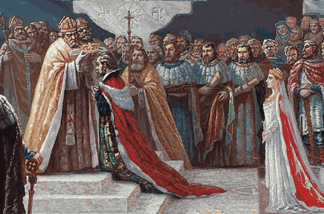 коронация Миндовга