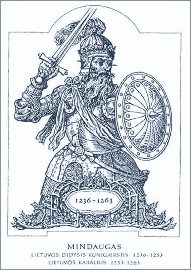 первый литовский князь Миндовг